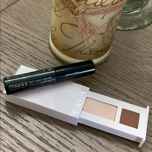 Clinique Shadow Duo Teddy Bear-Ivory w/Mascara 🆕